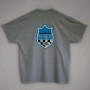 gray t-shirt back