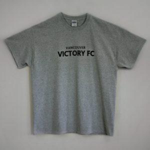 gray t-shirt front