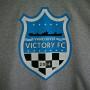 gray t-shirt logo